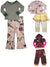 Baby Sara Toddler & Girls Long Sleeve Pant Sets - Assorted Fabrics Styles Colors, 30135