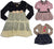 Baby Sara Toddler & Girls Long Sleeve Dresses - Assorted Fabrics Styles Colors, 30140