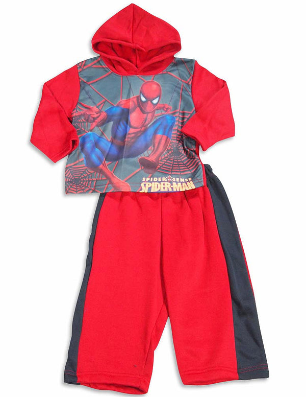 Spiderman - Baby Boys 2 Piece Spiderman Hoodie Jogsuit Set