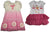 Baby Sara Toddler & Girls Short Sleeve Dresses - Assorted Fabrics Styles Colors, 30664
