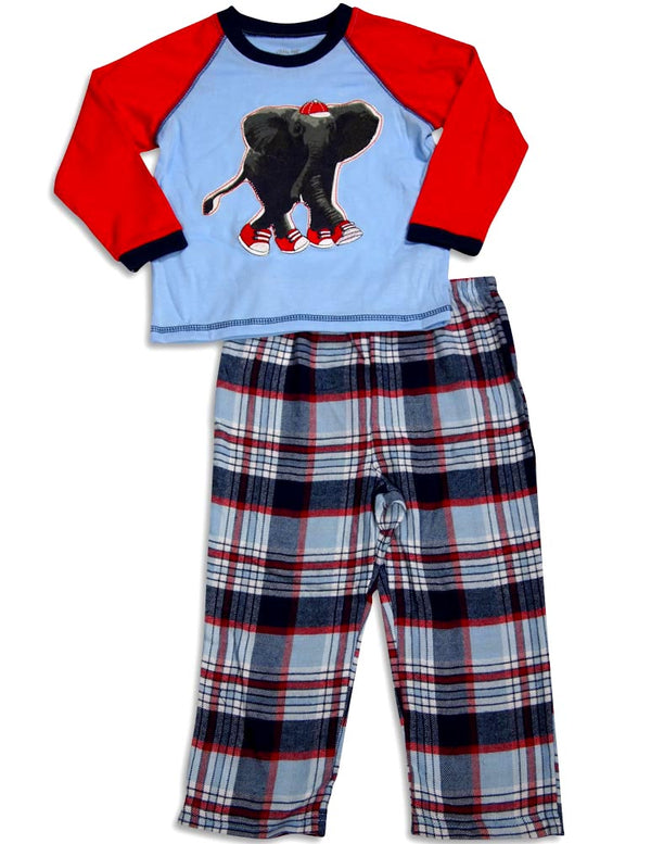 Little Me - Baby Boys Long Sleeve Allstar Pajamas