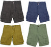 Smash for Toddler and Boys 4 - 10 - 100% Rayon Cargo Shorts - 30 Day Guarantee, 30913