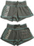 Authentic Butter Super Soft Screen Print and Embellished Logo'd Sweat Shorts, 30929
