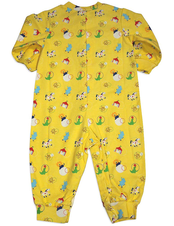 New Potato Baby Infant Boys Long Sleeve Cotton Coverall - 4 Fun Prints Available, 30959