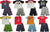 Mish Mish Boys Sizes 5-7 Cotton Short Sleeve Tank Tee Shirts Short Sets, 31154