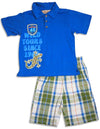 Kids Headquarters - Little Boys Short Sleeve Short Set