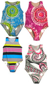 Flowers by Zoe Girls One Piece Swimsuit Bathing Suit Swimwear Sizes 4 - 8, 31486
