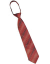 Perry Ellis - Little Boys Adjustable Silk Tie, Red, Navy 31591-onesize
