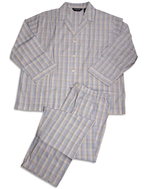 Knothe Lux - Big Mens Long Sleeve Pajamas