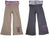 Wild Mango Girls Yoga Pants Sizes 5 - 10 - Fashion Legging Pants, 32132