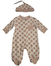 Offspring - Baby Boys Long Sleeve Coverall and Hat