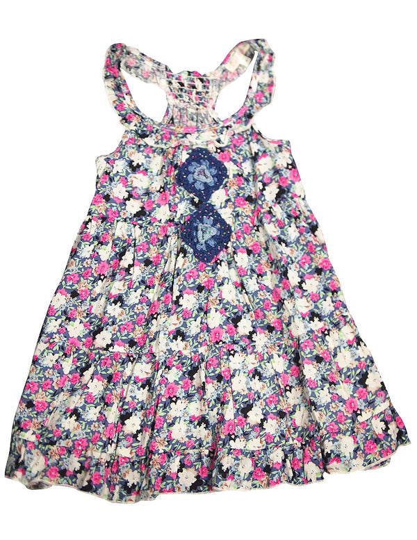 Baby Sara Girls Floral Tank Dress