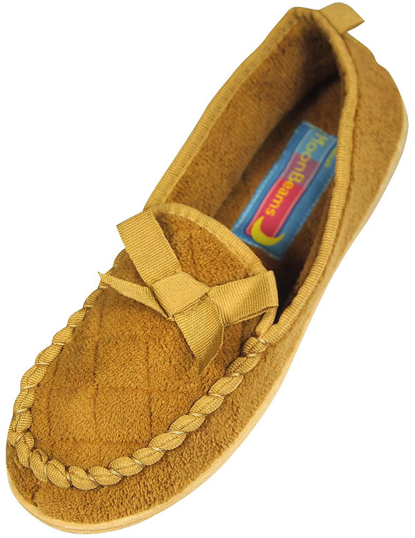 Moon Beams - Ladies Micro Terry Wide Width Slipper