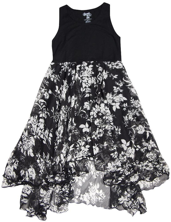 Flowers by Zoe - Big Girls' Sleeveless Floral Dress - 4 Colors - 30 Day Guarantee