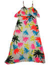 Flowers by Zoe - Girls' Tank Maxi Dress - 100% Rayon