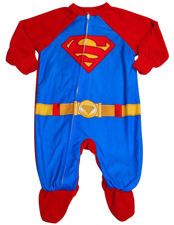 Superman - Little Boys Superman Blanket Sleeper