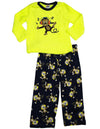 Healthtex - Baby Boys Long Sleeve Monster Pajama Set