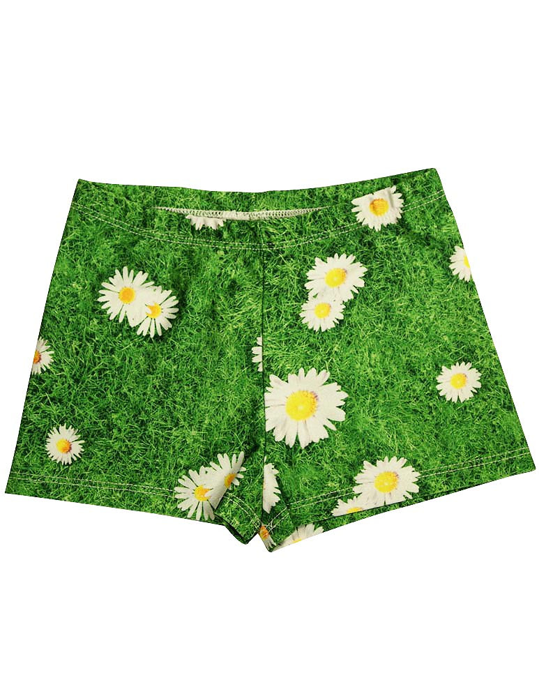 c0aac0f8 Zara Terez - Big Girls' Daisies Athletic Shorts - ShopBCClothing