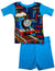 Thomas and Friends Train Toddler Boys Short Sleeve Cotton Shortie Pajamas, 34090