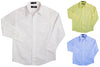 French Toast School Uniform Toddler Boys 2T-4T Long Sleeve Poplin Dress Shirt, 34135