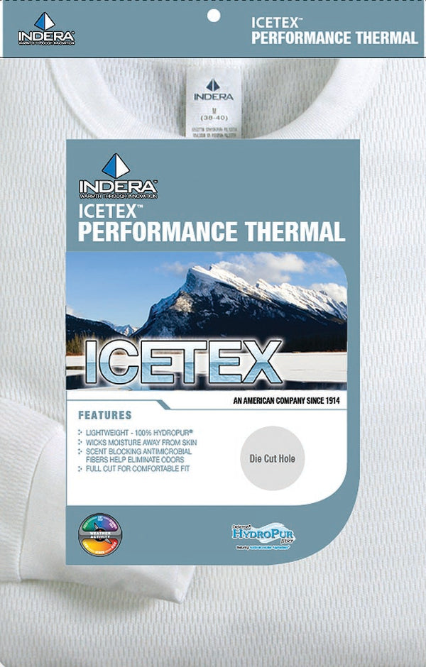 Indera Ladies ICEtex Dual Face Fleeced Heavyweight Thermal Long John Top, 34171