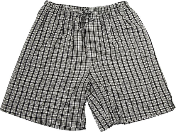 Covington - Mens Woven Plaid Lounge Shorts