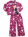 Justin Bieber - Big Girls' Long Sleeve Justin Bieber Pajamas