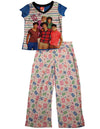 One Direction Girls Short Sleeve Long Leg Pant 2 Piece Novelty Pajama Sets, 34448