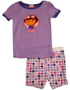 Dora the Explorer - Baby Girls Short Sleeve Dora Shorty Pajamas