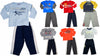 Mish Mish Baby Boys Infant Toddler Long Sleeve Cotton 2 Piece Pant Sets, 34521