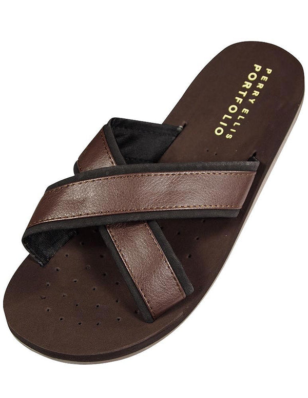 Perry Ellis Portfolio - Mens Thong Sandal