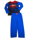 Superman - Little Boys Long Sleeve Superman Pajamas