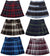 French Toast School Uniform Girls Regular & Plus Sizes Pleat Plaid Scooter Skirt, 35136