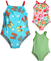 Bunz Kidz Baby Infant Girls One Piece Swim Suit Bathing Wear Swimsuit, 35166