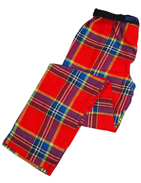 Bottoms Out - Ladies Plaid Flannel Lounge Pants