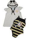 Baby Buns - Little Girls SPF 50 Swimwear Cover-Up Set