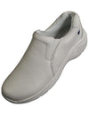 Nurse Mates Dove Lightweight Leather Medical Nursing Clogs Slip-On Doctor Shoes, 35578