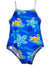 Beach Native - Girls One Piece Aloha Hawaii Swimsuit, 35591
