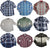 Smash Boys Sizes 4 - 14 Western Style Long Sleeve Button / Snap Down Shirt Top, 35893