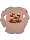 Lemon - Big Girls Long Sleeve Top