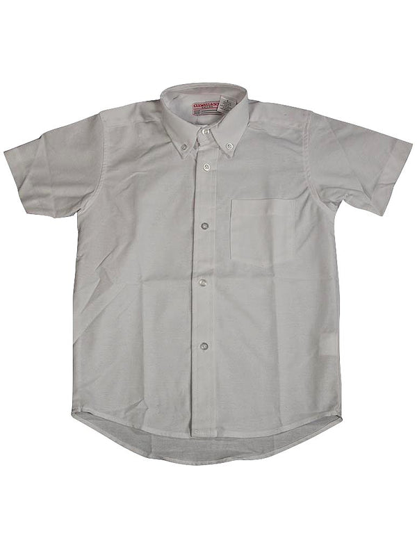 Culwell & Son - Big Boys' Short Sleeve Oxford Shirt