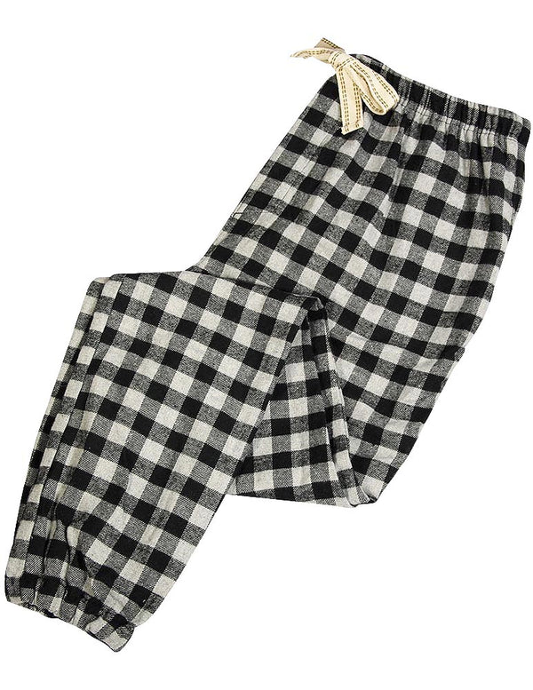 Bottoms Out - Mens Flannel Plaid Checker Lounge Pant