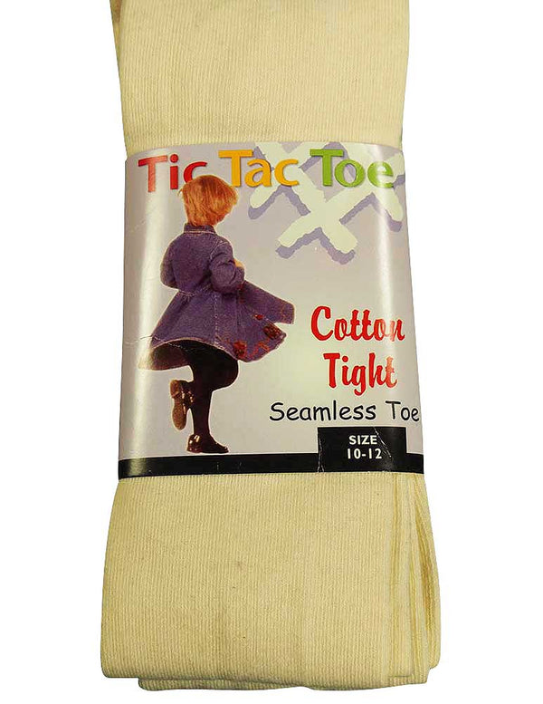Tic Tac Toe - Big Girls Heavy Cotton Tight