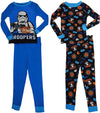 Star Wars Imperial Force Size 4 Boys Long Sleeve Cotton Sleepwear Pajama Set, 37759