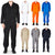 Natural Workwear Mens Long Sleeve Basic Blended Work Coverall XS - 4XL Order 1 Size Bigger, 38103
