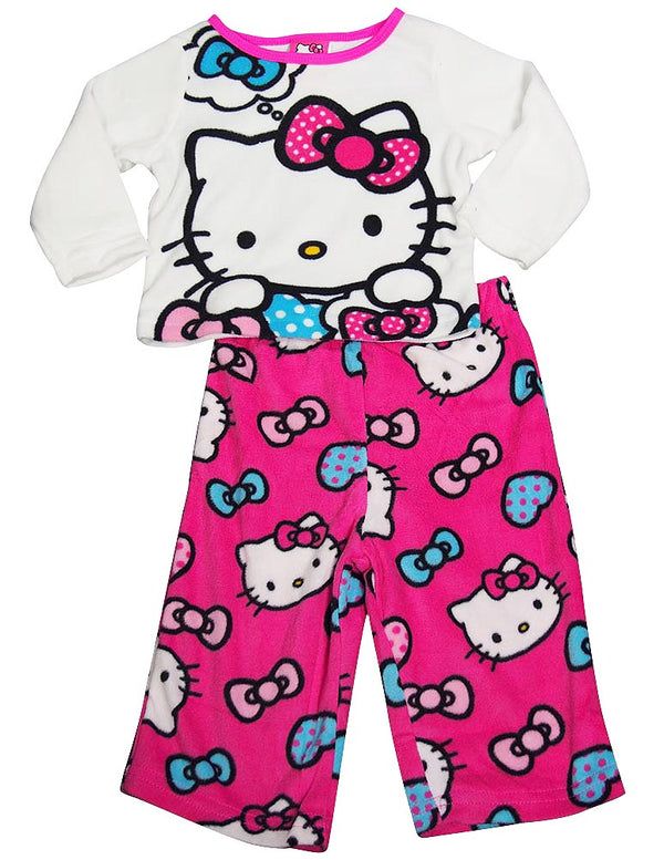 Hello Kitty - Baby Girls Long Sleeve Hello Kitty Pajamas