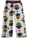 Despicable Me - Little Girls Microfleece Lounge Pant