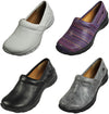 Nurse Mates Libby Lightweight Leather Medical Nursing Clogs Slip-On Doctor Shoes, 38449