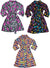 Fancy Girlz Plush Soft Graphic Print Girls Self Tie Bathrobe Robe, 38493