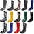 New Women Rain Boots Rubber Solid Color Mid Height Wellie Mid Calf Snow Rainboot - Runs 1/2 Size Big, 38734